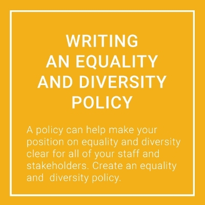 diversity policy template - equality policy and diversity monitoring